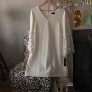 Tahari Ivory Dress